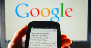 "The European Court of Justice's ruling on the ""right to be forgotten"" has caused controversy for Google. Photograph: Dominic Lipinski/PA Wire"