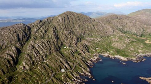Coomeen, Beara Peninsula, Co Cork. Photograph: Flight Sgt Willie Barr/Pilot: Lt Col Ronan Verling/Air Corps