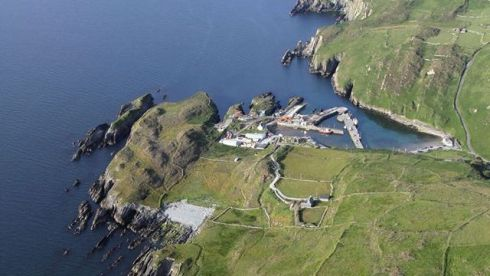 Cape Clear, Co Cork. Photograph: Flight Sgt Willie Barr/Pilot: Lt Col Ronan Verling/Air Corps
