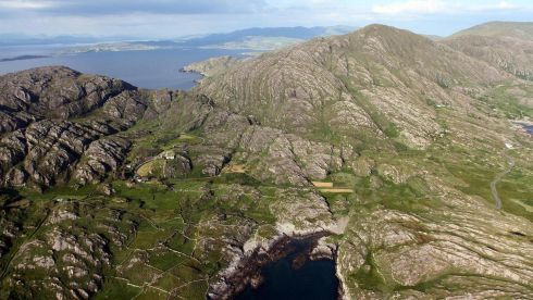 Cod's Head, Beara Peninsula, Co Cork. Photograph: Flight Sgt Willie Barr/Pilot: Lt Col Ronan Verling/Air Corps