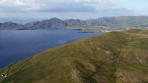 Allihies, Beara Peninsula, Co Cork. Photograph: Flight Sgt Willie Barr/Pilot: Lt Col Ronan Verling/Air Corps