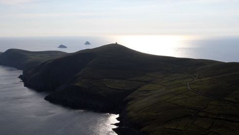 Dursey Island, Co Cork. Photograph: Flight Sgt Willie Barr/Pilot: Lt Col Ronan Verling/Air Corps