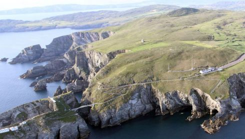 Mizen Head, Co Cork. Photograph: Flight Sgt Willie Barr/Pilot: Lt Col Ronan Verling/Air Corps