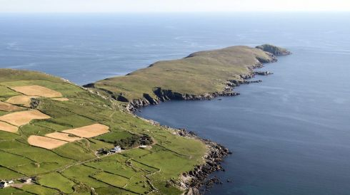 Crow Head, Co Cork. Photograph: Flight Sgt Willie Barr/Pilot: Lt Col Ronan Verling/Air Corps