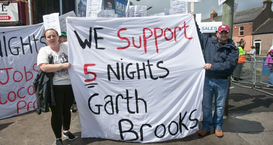 Garth Brooks: All Dublin shows cancelled