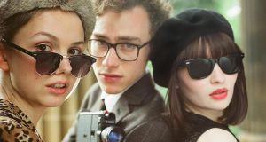 Hannah Murray as Cass, Olly Alexander as James, and Emma Browning as Eve in 'God Help the Girl'
