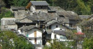 Calsazio village in Italy on market for €245,000