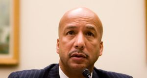 Ray Nagin, the former mayor of New Orleans who was convicted in February on corruption charges, was sentenced to 10 years in prison today. Photograph:  Brendan Hoffman/Getty Images.