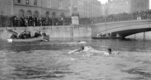 "In its early incarnation the swim was not for the faint hearted as ""the Lee was an open sewer"". Photograph: Irish Examiner"