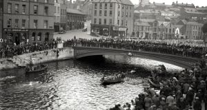 The swim became an enormous attraction for the people of Cork in the early part of the last century but 1914 marked the first year that the race took place. Photograph: Irish Examiner