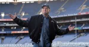 Singer Garth Brooks has said he is still willing to play his five Dublin dates if there is a chance all the concerts can be staged. Photograph: Dara Mac Dónaill	/The Irish Times.