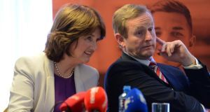 Taoiseach Enda Kenny and Tánaiste Joan Burton are to announce the Cabinet reshuffle in the morning. File photograph: Eric Luke/The Irish Times.
