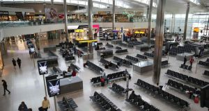 Airy port: The departures lounge in Heathrow's Terminal 2. Photograph: Niel Hall/Reuters