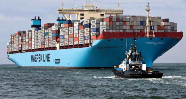 MSC and AP Moller-Maersk, the parent company of Maersk Line, said 185 vessels would be shared, including 20 of Maersk's giant Triple-E ships. Photograph: Reuters