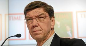 Clayton Christensen: Harvard professor was on the receiving end of a scathing attack