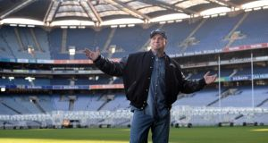 Garth Brooks in Croke Park in January. The American country singer had planned to play five concerts at Croke Park later this month. Photograph: Dara Mac Dónaill/The Irish Times
