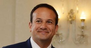 "Minister for Health Leo Varadkar: as a doctor, he  says he understands ""the medicine and politics"" of his new portfolio. Photograph: Alan Betson"