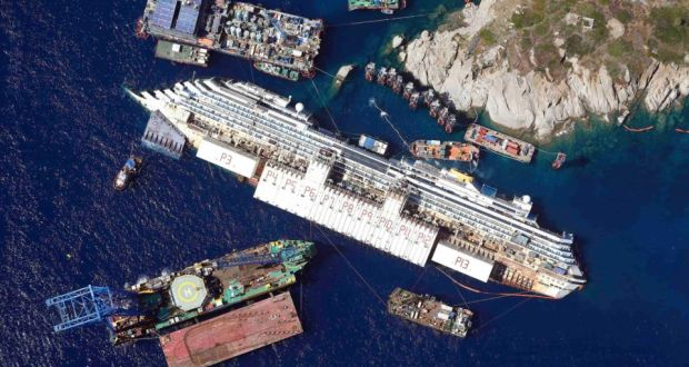 Delicate Concordia refloating operation due to begin tomorrow