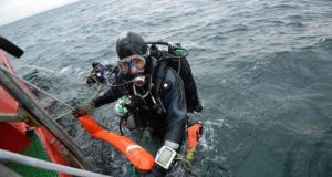 Fiver  men have died while diving off Ireland's coast in the past month. Photograph: Reuters