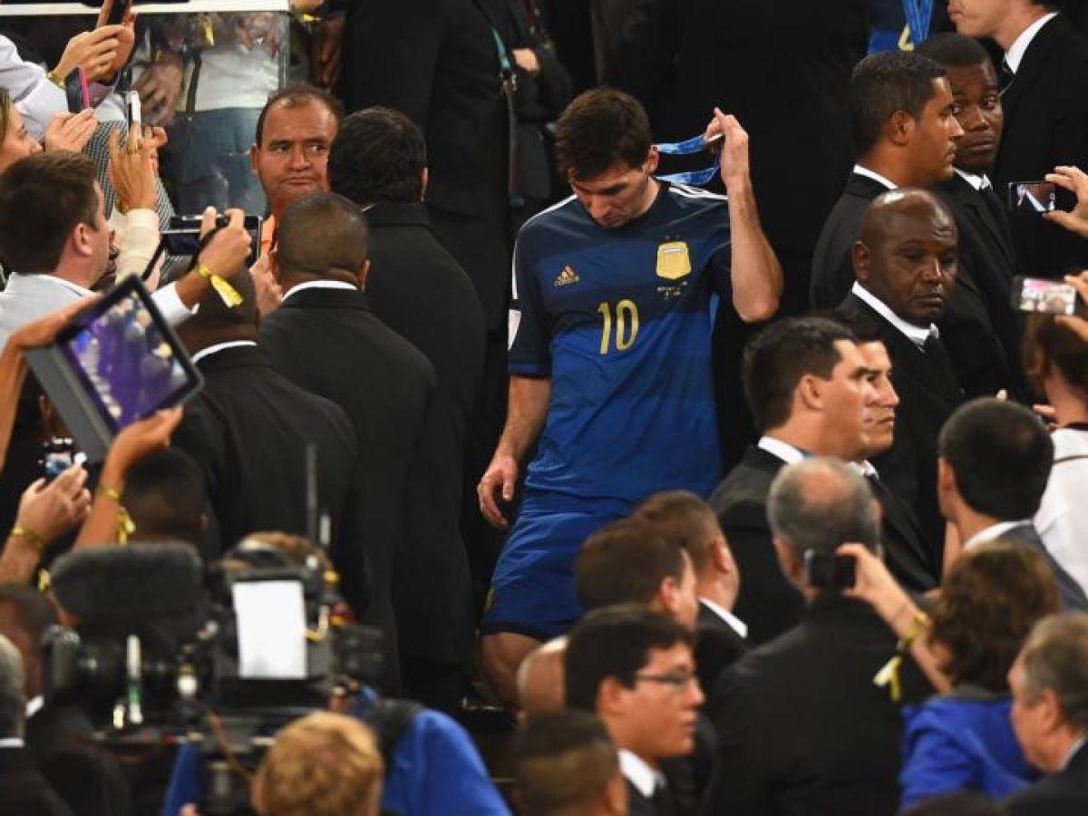 Maradona Says Messi Should Not Have Got Golden Ball Award