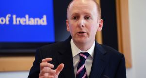 The Director of the Insolvency Service of Ireland, Lorcan O'Connor. File photograph: Eric Luke / THE IRISH TIMES.