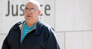 Samir Mansour at the Central Criminal Court, Dublin last week. Photograph: Collins.