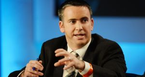 Damien English is among the TDs who are tipped for promotion in the reshuffle. Photograph: Alan Betson / THE IRISH TIMES
