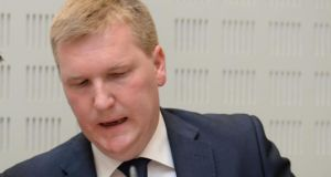 Fianna Fáil finance spokesman Michael McGrath said the Irish tax code was transparent and legitimate. Photograph: Dara Mac Dónaill