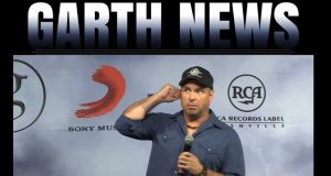 Screen grab image taken from garthbrooks.com of country superstar Garth Brooks during a press conference last week. Photograph: PA