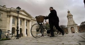 File image of Trinity College Dublin. Photograph: Dara Mac Donaill/The Irish Times.