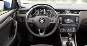 Steering is unnervingly light in Normal mode – keep the Sport button pressed
