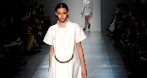 Victoria Beckham autumn winter 2014. Photograph: Getty Images