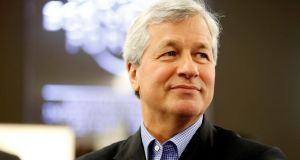 JP Morgan Chase chief executive James Dimon. Photographs: Json Allen/Bloomberg