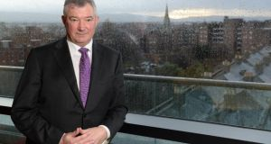 Bank of Ireland chief executive, Richie Boucher. Photograph: Dara Mac Donaill
