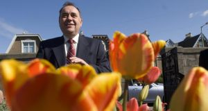 SNP leader Alex Salmond: will he see a new independent Scotland blooming or will caution dictate otherwise? Photograph: Getty