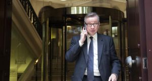Demotion of education secretary Michael Gove to the position of chief whip could be part of a longer game. Photograph:  Oli Scarff/Getty Images