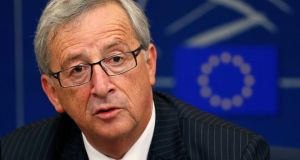 "Jean-Claude Juncker: ""The economy has to serve people and not the other way around."" Photograph: Vincent Kessler/Reuters"
