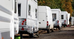 """Travellers continue to suffer significant challenges in terms of appropriate housing . . . they have shorter life expectancy, high infant mortality and, particularly troubling, a high rate of suicide"". Photograph: Chris Radburn/PA Wire"