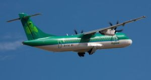 Flights to and from Dublin rose 45 per cent last month, the airline said.
