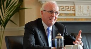 Nama chaiman Frank Daly. A new review has said the agency is meeting its strategic objectives