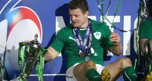 Brian O'Driscoll will join the BT Sports for the new rugby season. Photograph:  Paul Gilham/Getty Images