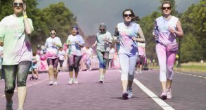 Colour Dash: Last year 2,000 people took part in the 5km dash, raising €100,000 for the Irish Cancer Society.