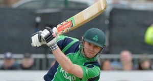Ireland's William Porterfield will lead his side out against England in Malahide again next year.  Photograph: Rowland White / Inpho / Presseye