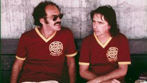 Can you dig it: Shep Gordon and Alice Cooper chillaxin' back in the day