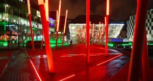 The Bord Gáis Energy Theatre at Grand Canal Dock. Photograph: Alan Betson
