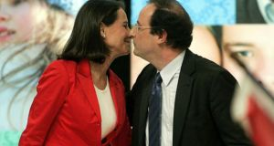 "Philosophers' Mail: ""Francois Hollande – the difficulties of staying with one life partner."" Photograph: AP/Michel Euler"