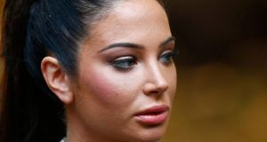 Singer Tulisa Contostavlos arrives at Southwark Crown Court in London  today. Contostavlos is on trial accused of being concerned with the supply of a class A drug, which she denies. Photograph: Andrew Winning/Reuters
