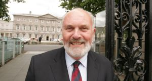 Senator David Norris: 'I want to push for a visit through this public forum and let the people of Ireland know that the Government is sitting on the matter and doing nothing.' Photograph: Alan Betson