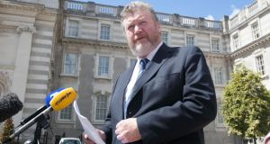 Minister for Children James Reilly said funds would be made available to Judge Yvonne Murphy to conduct the inquiry into mother and baby homes. Photograph: Gareth Chaney/Collins