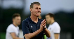 "Stephen Kenny: ""Hajduk are a club of great pedigree but we will be going out to express ourselves."" Photograph: Ryan Byrne/Inpho."